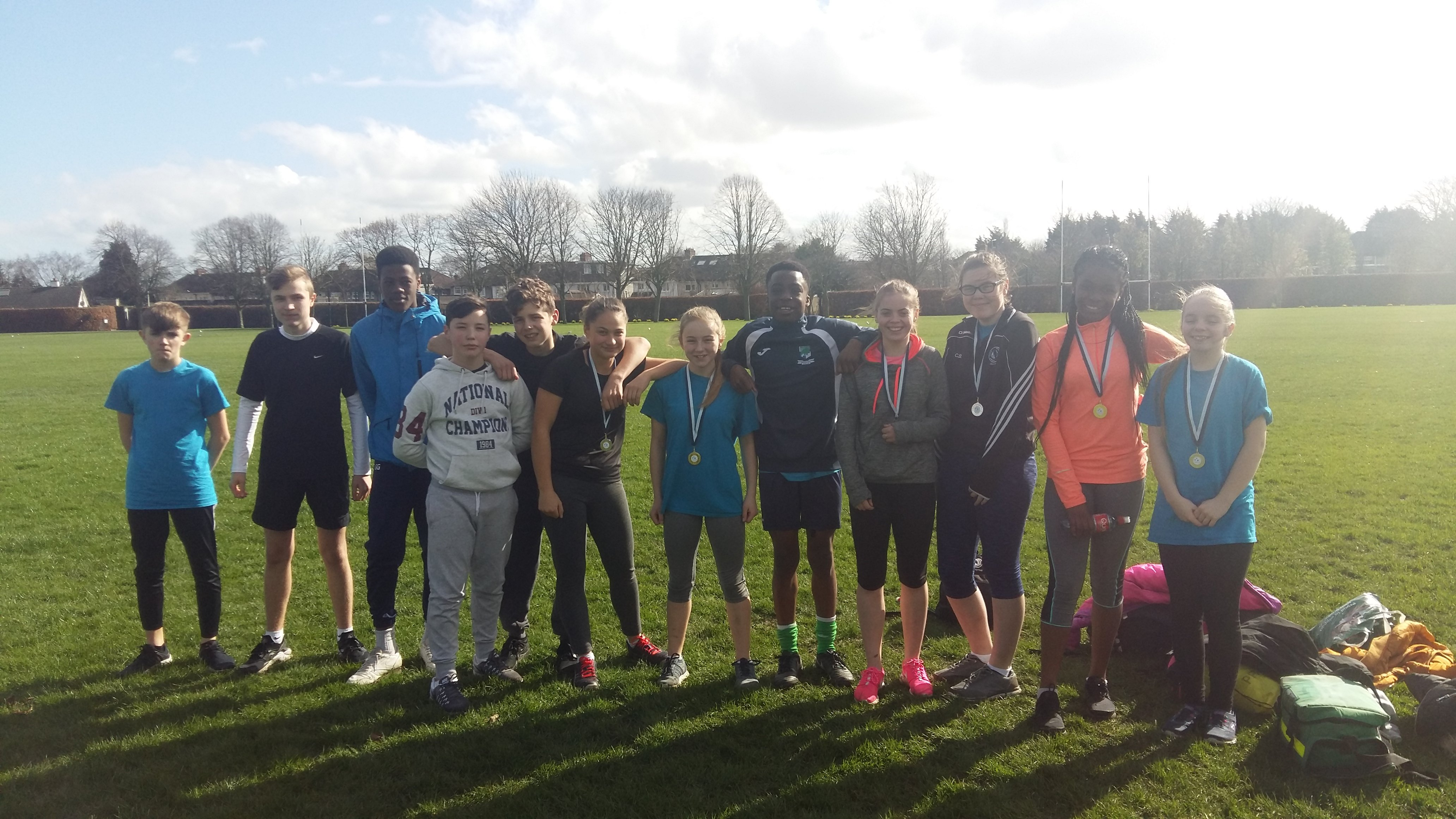 1st year cross country relay March 2017